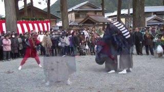 松阪市飯高町宮前 花岡神社(1) 大神楽と悪魔祓い