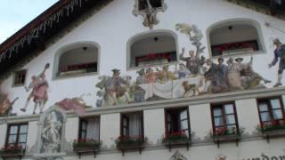 видео Гармиш Партенкирхен Германия (Garmisch Partenkirchen) - горнолыжный курорт у подножия Цугшпитце - Туроператор «Свои люди»