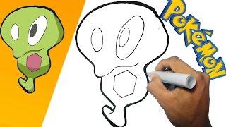 Como dibujar a Blandito - Pokemon paso a paso | how to draw Squishy - Pokemon