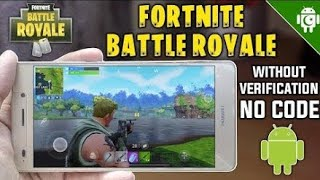 Download Fortnite Without Human Verification!! ||| 2018 |||