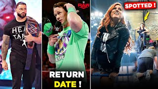 John Cena RETURN DATE in WWE Confirmed 2021 Becky Lynch SPOTTED Doing Training Raw Highlights