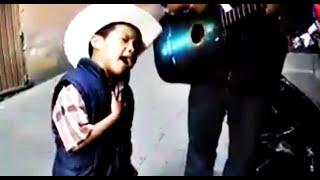 Niño De 4 Años Canta Con Mucho Sentimiento Te Metiste De Ariel Camacho