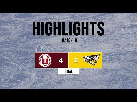 Highlights   Temple Owls Vs. Towson Tigers - 10/18/19