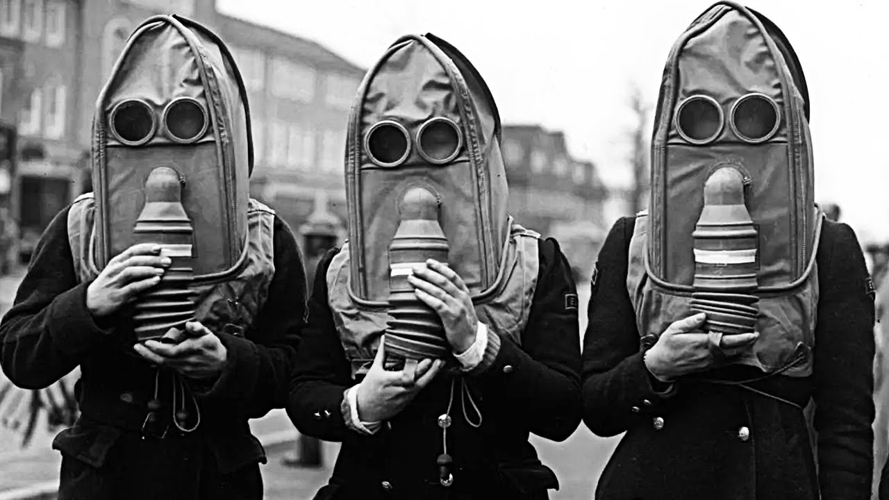 gasmask pictures everyone in this town has to wear a gas mask youtube 467