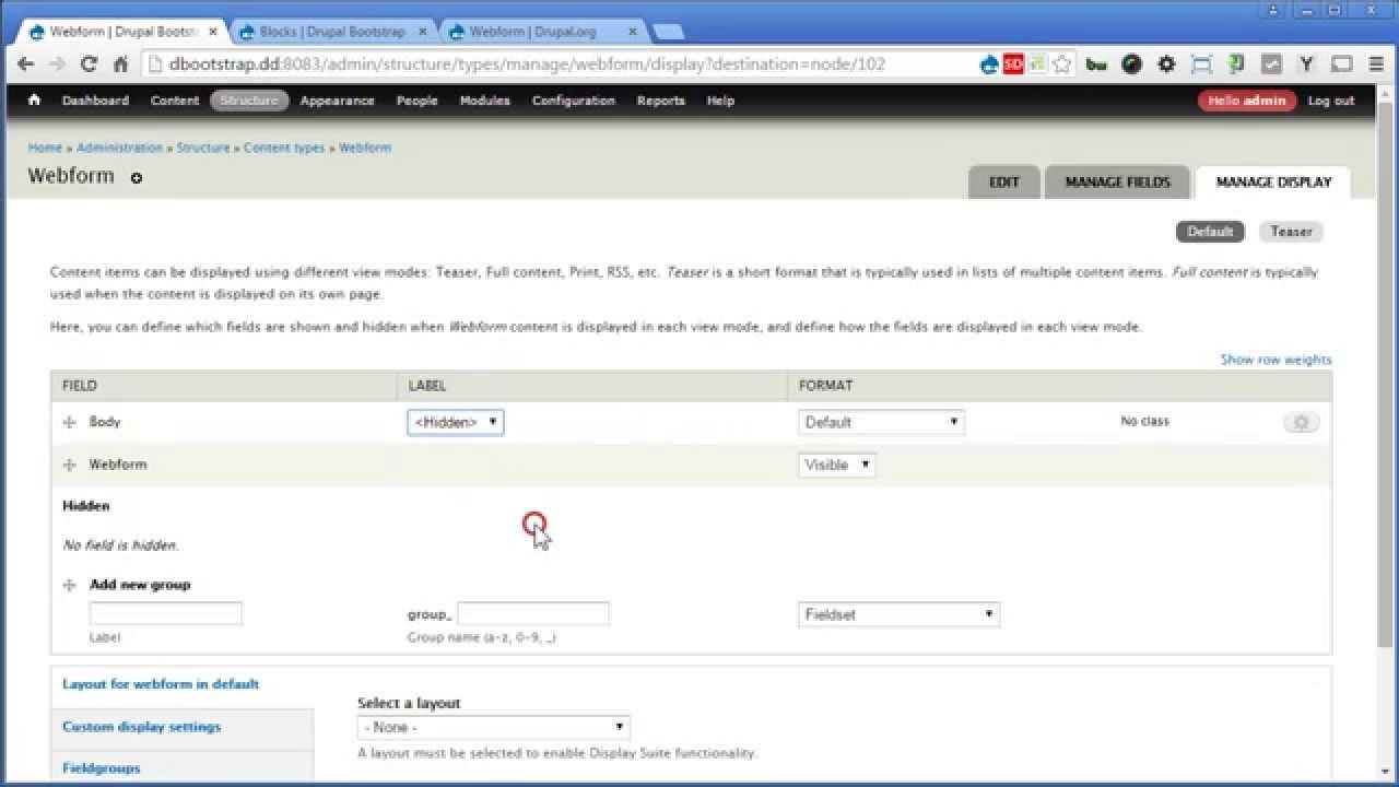 Drupal Bootstrap 29 Creating Contact Webform Youtube