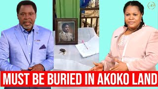 T.B Joshua Must Be Buried In His Home Town & Not Lagos! His Village People Cry Out