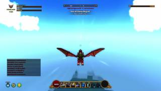 Getting My First Flying Dragon in PS4 Trove