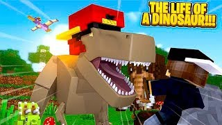 Minecraft Life of - ROPO & JACK LIVE THE LIFE OF DINOSAURS IN JURASSIC PARK!!