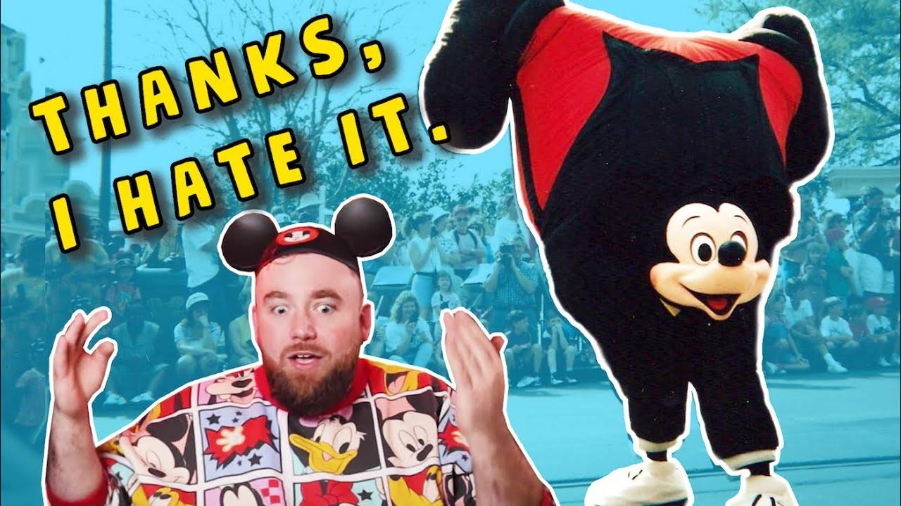 Disney's Forgotten Manic Mickey Parade
