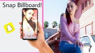 Bhad Bhabie Danielle Bregoli SHOWS NEW BILLBOARD !    Live Video Views