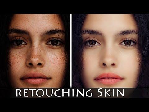 Photoshop Tutorial׃ How to retouching Skin retaining Texture