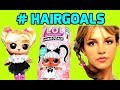 LOL #HAIRGOALS Unboxing Opening Oops Baby Look Alike Britney Spears Who is Who