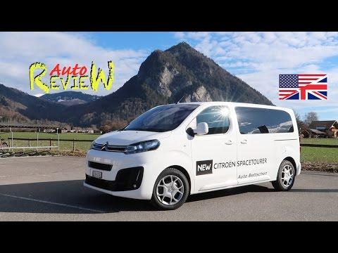 2017 Citroën Spacetourer M 2.0l BHDi 180 Business S/S | AutoReview | Switzerland | Episode 69 [ENG]