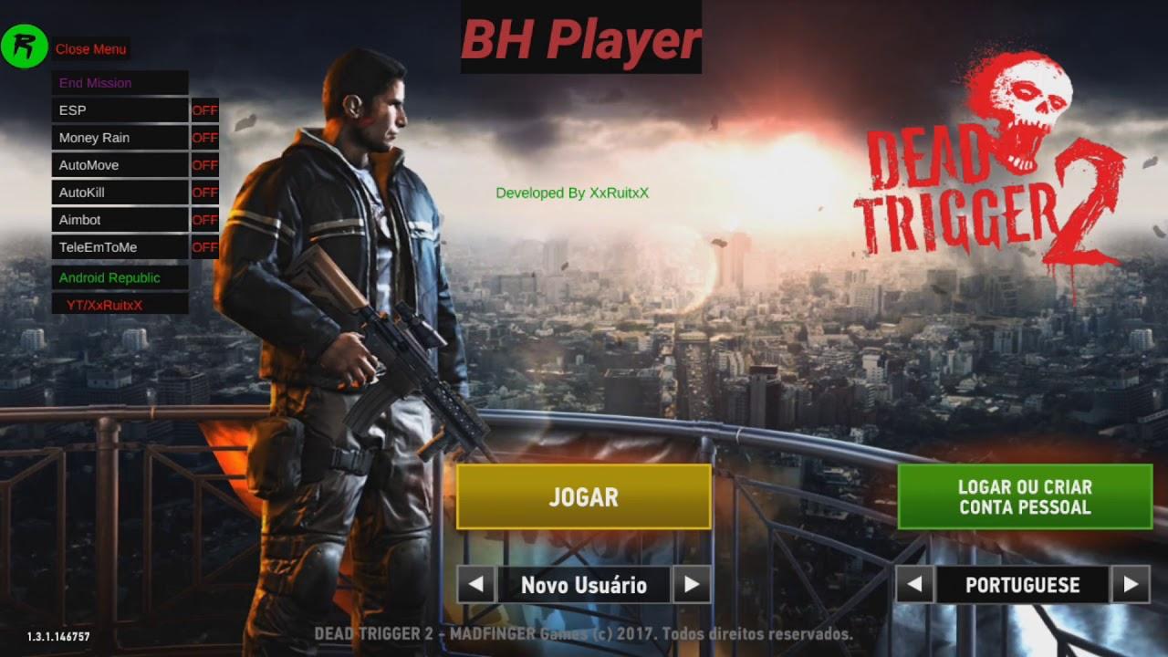 Dead Trigger 2 Ver 1 6 6 Mega Mod Menu Hack No Root Youtube