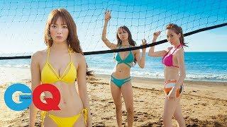 夏語心、舒子晨、康茵茵 好熱!好辣!好犯規!|GQ Cover