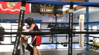Manuel Tercero first time boxing war zone