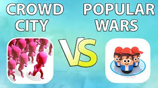 CROWD CITY VS POPULAR WARS | WHICH GAME IS BETTER??