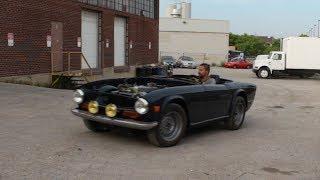 1973 Triumph TR6 Restoration - Will She Drive