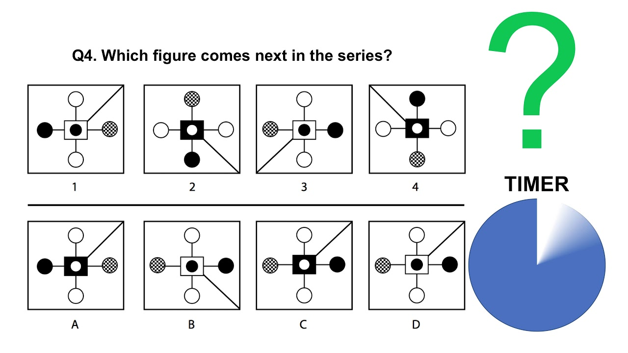 hight resolution of ABSTRACT REASONING TESTS - Sample questions and answers - YouTube