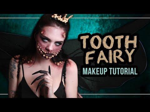 TOOTH FAIRY 🦷 die Zahnfee - Halloween Makeup Tutorial (deutsch) #spooktober