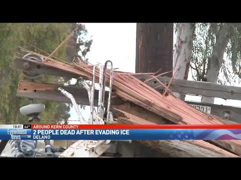 Delano police: 2 killed in crash while fleeing from ICE agents