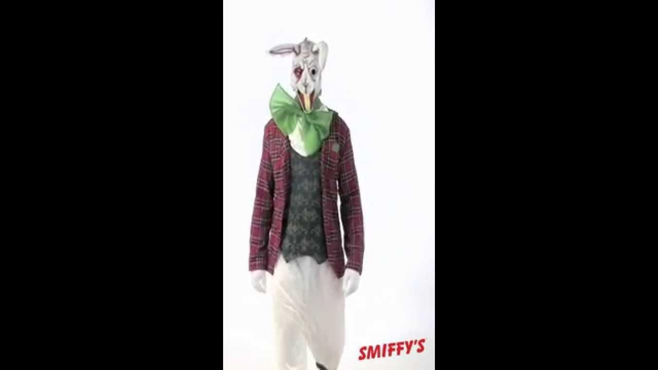 D guisement de lapin zombie alice au pays des merveilles youtube - Lapin alice aux pays des merveilles ...