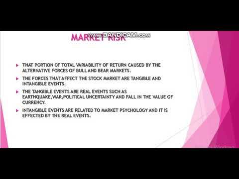 RISK 1 FUNDAMENTAL OF INVESTMENT/SAPM