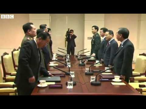 North and South Korea meet for high level talks