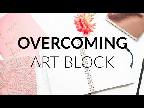 Overcoming Artist's Block · Productivity And Inspiration Tips And Prompts · SemiSkimmedMin