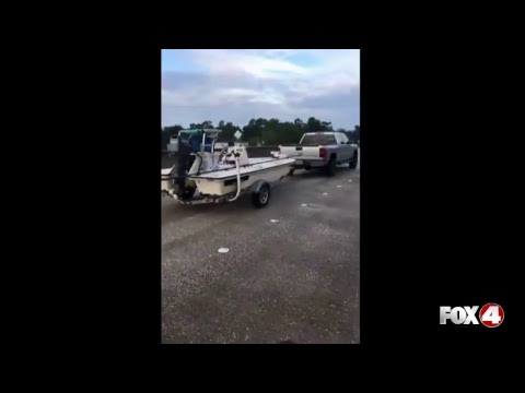 LIVE IN TEXAS | Beaumont, Texas Flooding Travel Problems