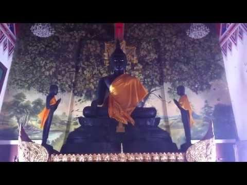 Bangkok Temples Wat Dhammamongkol 30 Foot Jade Buddha