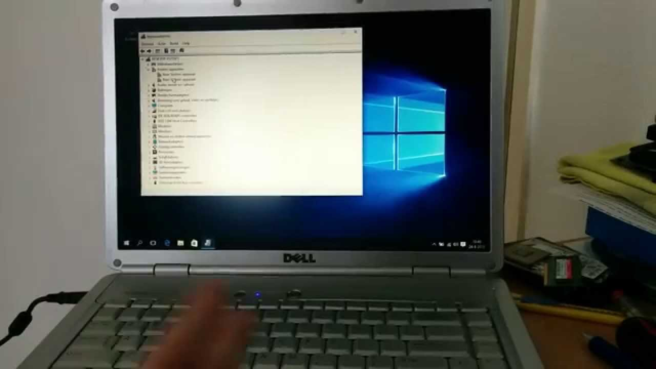 How To Setup Windows 10 On A Dell Inspiron 1525 Youtube