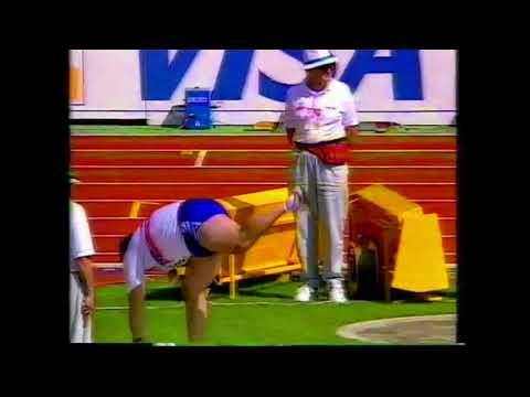 4518 World Track & Field Shot Put Men Paul Edwards