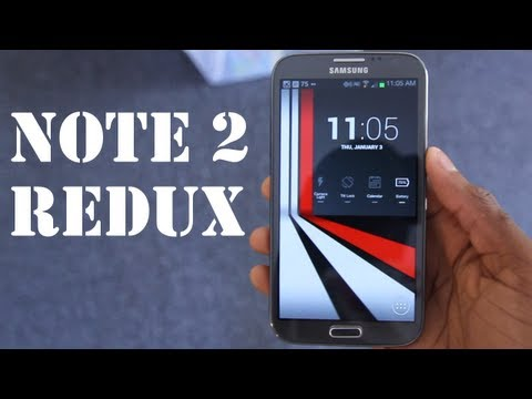 Samsung Galaxy Note 2: Revisited!