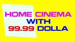 Home Cinema TV With $99.99 - GooBang Doo Multimedia Home Theater Video Projector