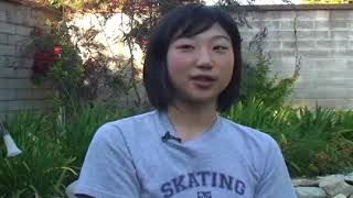 2009 Interview with Mirai Nagasu & her Olympic Dream