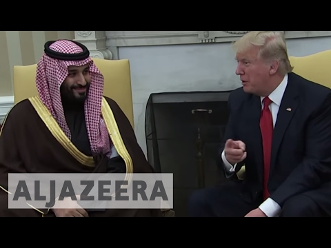 Saudi Arabia and US to announce a $350bn arms deal