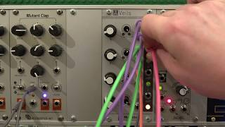 Mutable Instruments Veils - Quad VCA Demo
