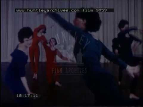 Dance choreography from start to finish, 1960's - Film 9059