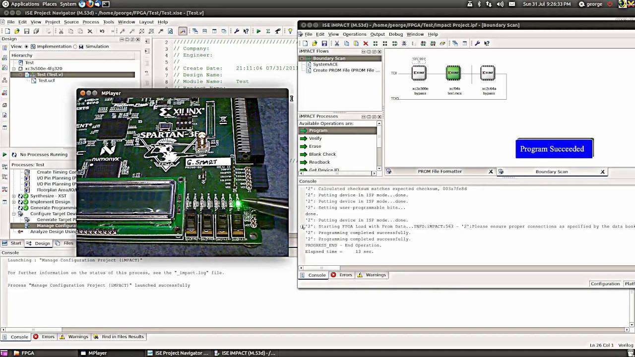 FPGA XOR Gate Design in Verilog using Xilinx ISE Simulator Part 2 of 2