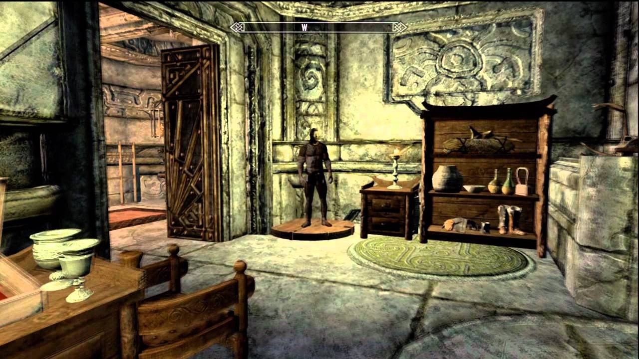 Skyrim Vlindrel Hall Buy Upgrade Your Markarth Home Youtube