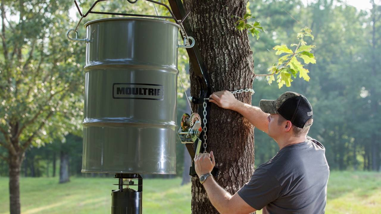 protein pin yourself feeder deer feeders do it pinterest from old can homemade trash