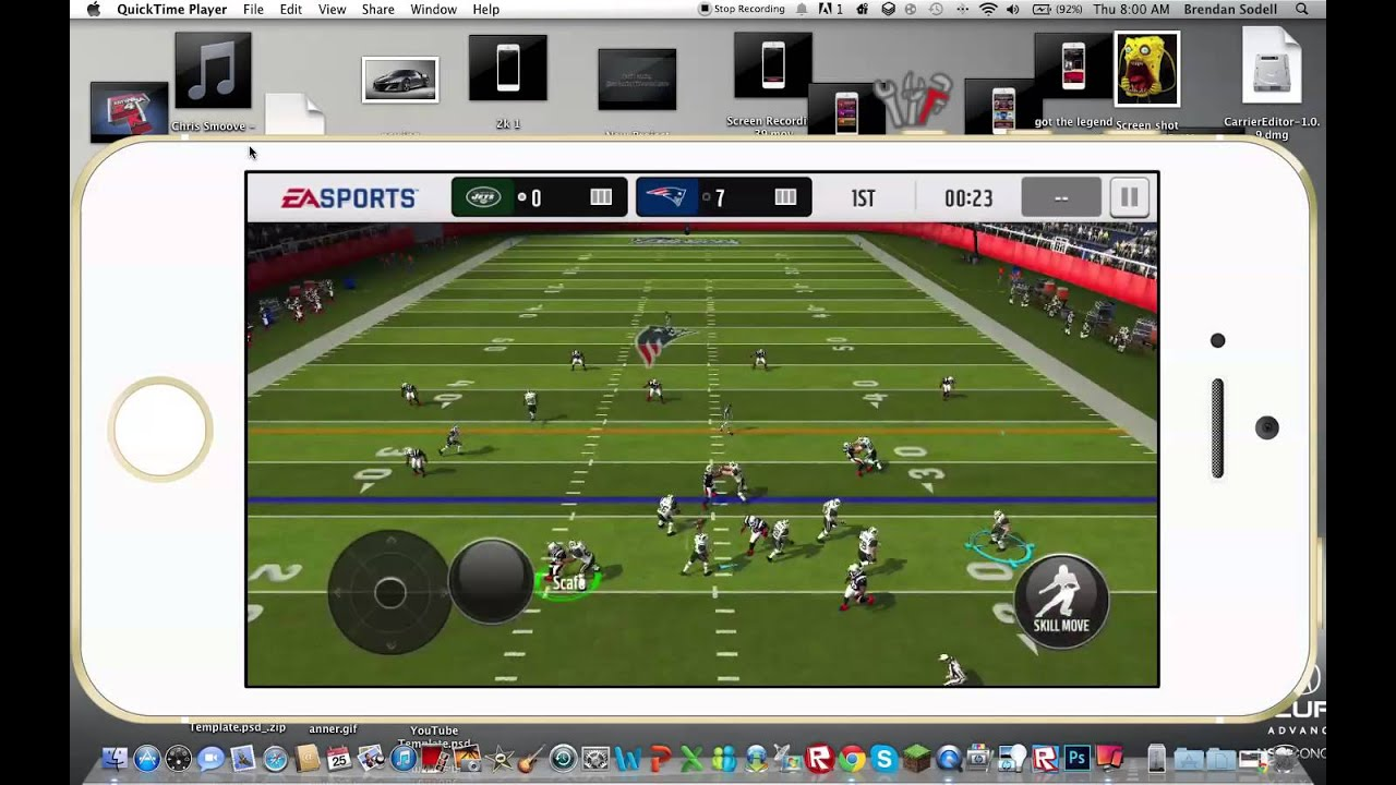 Madden NFL Mobile Gameplay! Making a League - YouTube