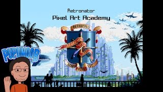 Pixel Art Academy | Learn to draw by playing | Indie Game Dev Interview