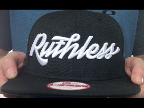 Compton  RUTHLESS SOUTH CENTRAL  Black Hat by New Era - YouTube 1d18bd34ecc