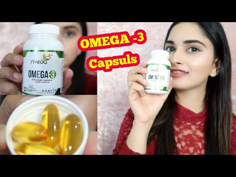 Omega 3 Supplement For Hair, Skin, Joints And Heart Health