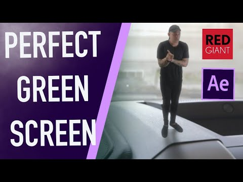 Creating PERFECT Green Screen Using After Effects & Red Giant's VFX Suite