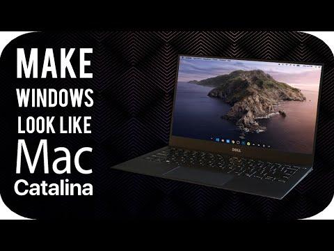 How To Make Windows 10 Look Like MacOS Catalina