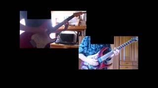 Lch.Koji Rch.Hiro ライブバージョンのを弾いてみました。やっぱり難し...