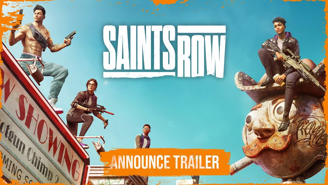 SAINTS ROW Official Announce Trailer